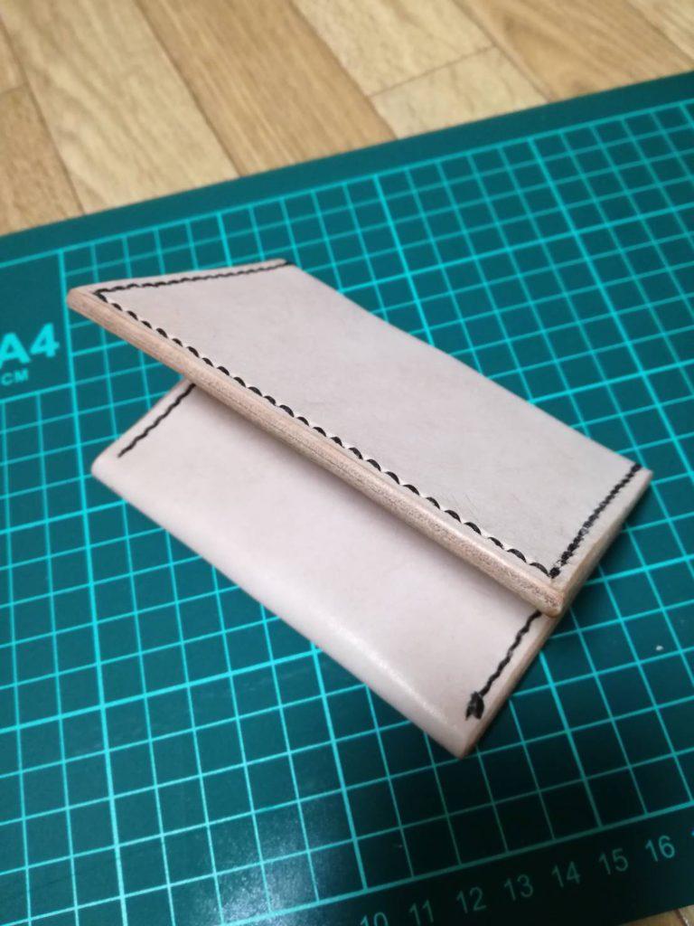 カードケース|初めてのレザークラフト作品投稿