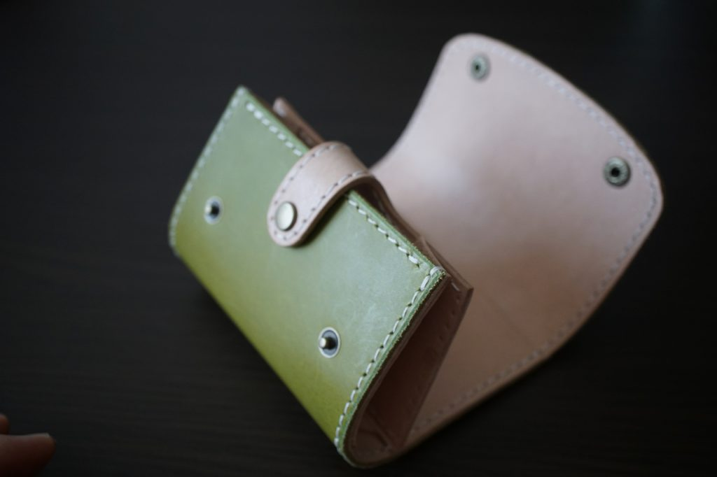 緑コインケース23