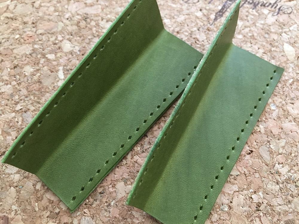 緑本ヌメ革の長財布28