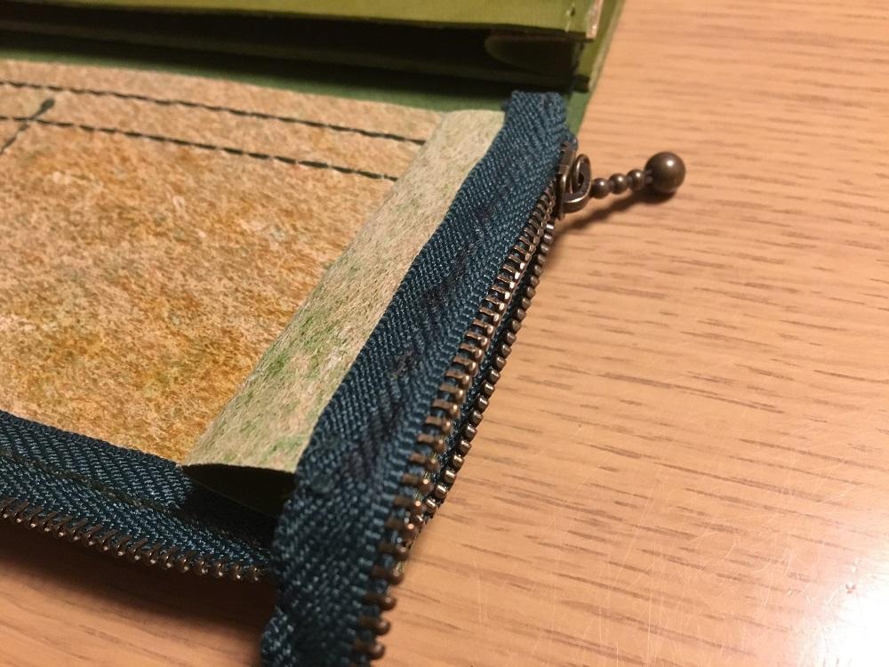 緑本ヌメ革の長財布64