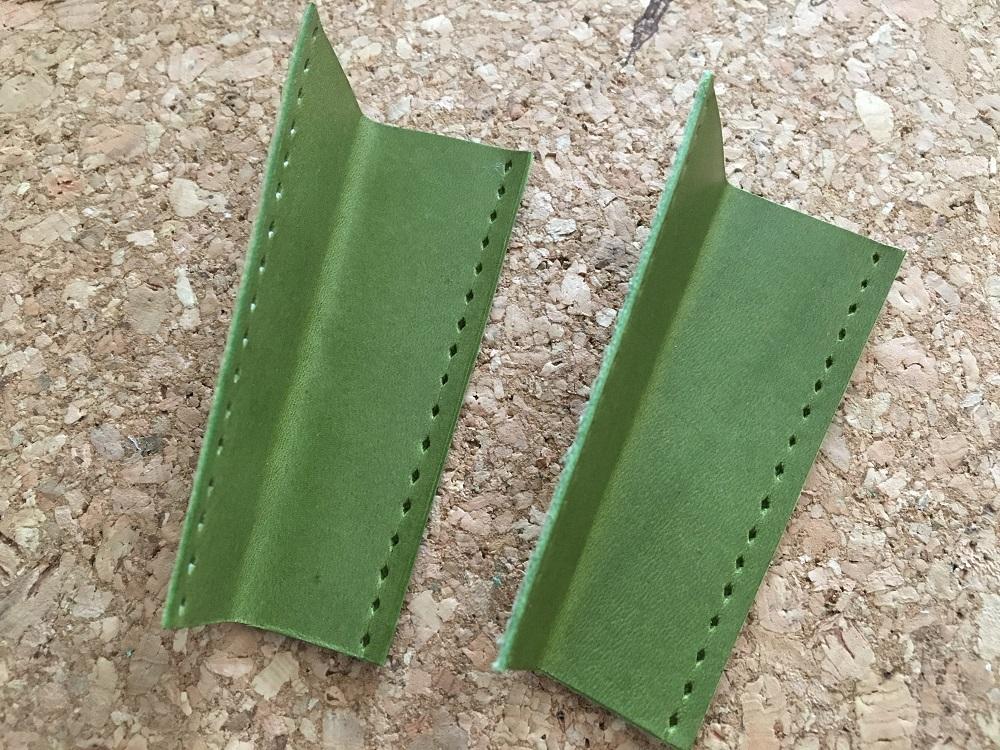 緑本ヌメ革の長財布25