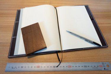 A5サイズの手帳カバー|和乃革レザークラフト作品事例