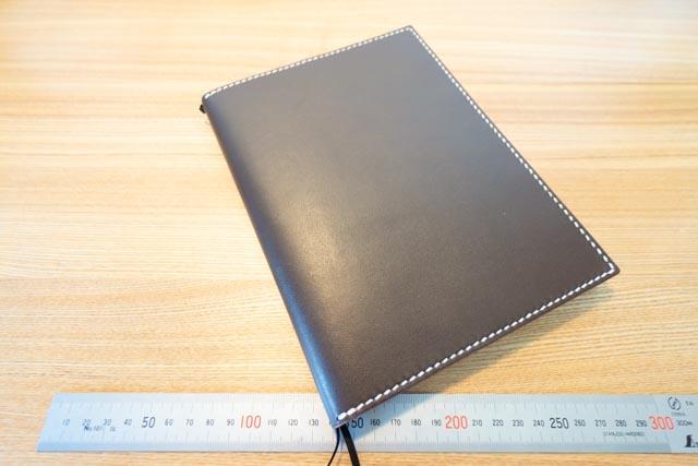 A5サイズの手帳カバー|レザークラフト作品紹介 (4)