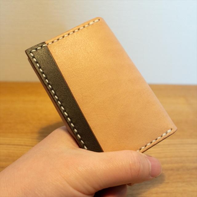 カードケース|レザークラフト作品 (2)_R