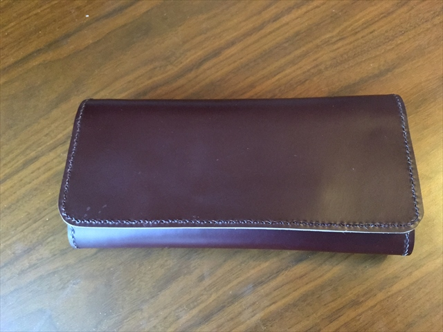 三つ折り長財布|レザークラフト作品 (4)_R