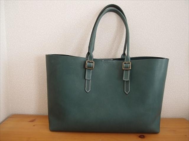 内縫いのトートバッグ|レザークラフト作品紹介 (2)_R