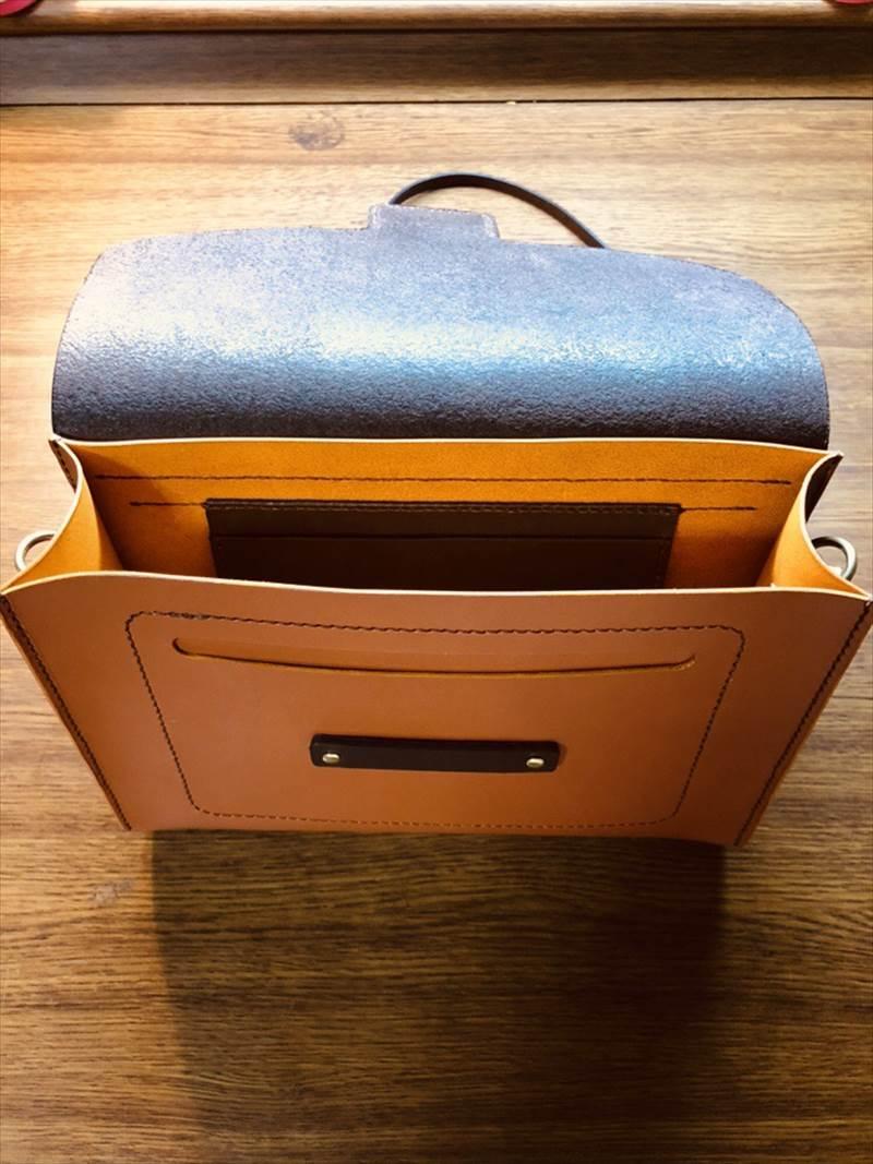本ヌメ革のショルダーバッグ|レザークラフト作品事例 (3)_R