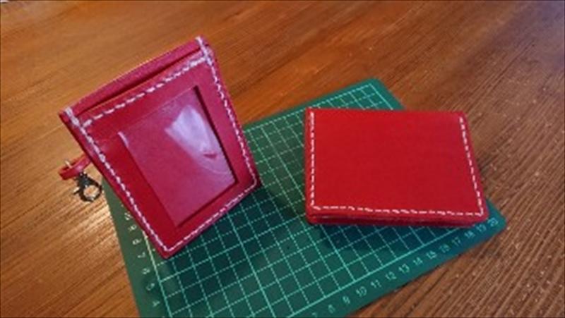 カードケース&パスケース|レザークラフト作品