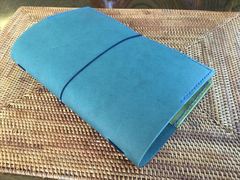 母子手帳カバー|レザークラフト作品 (2)
