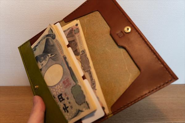 薄い革財布_レザークラフト作品事例 (5)