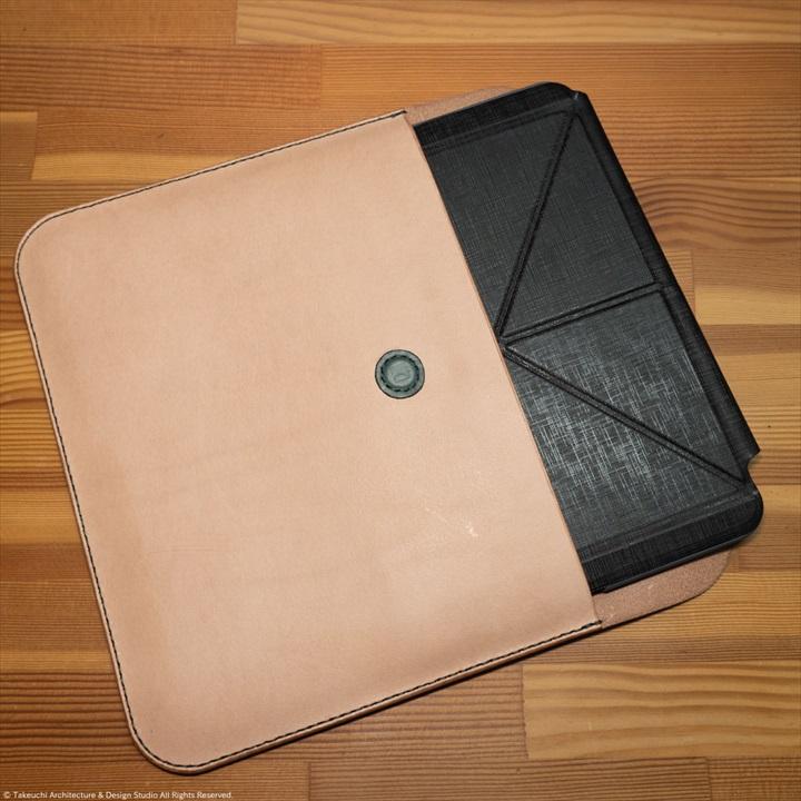 iPad-Pro-11-inch-本革ケース|レザークラフト-4