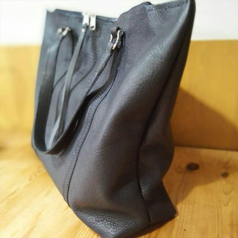 オイルレザーのトートバッグ|レザークラフト作品投稿|和乃革ブログ5