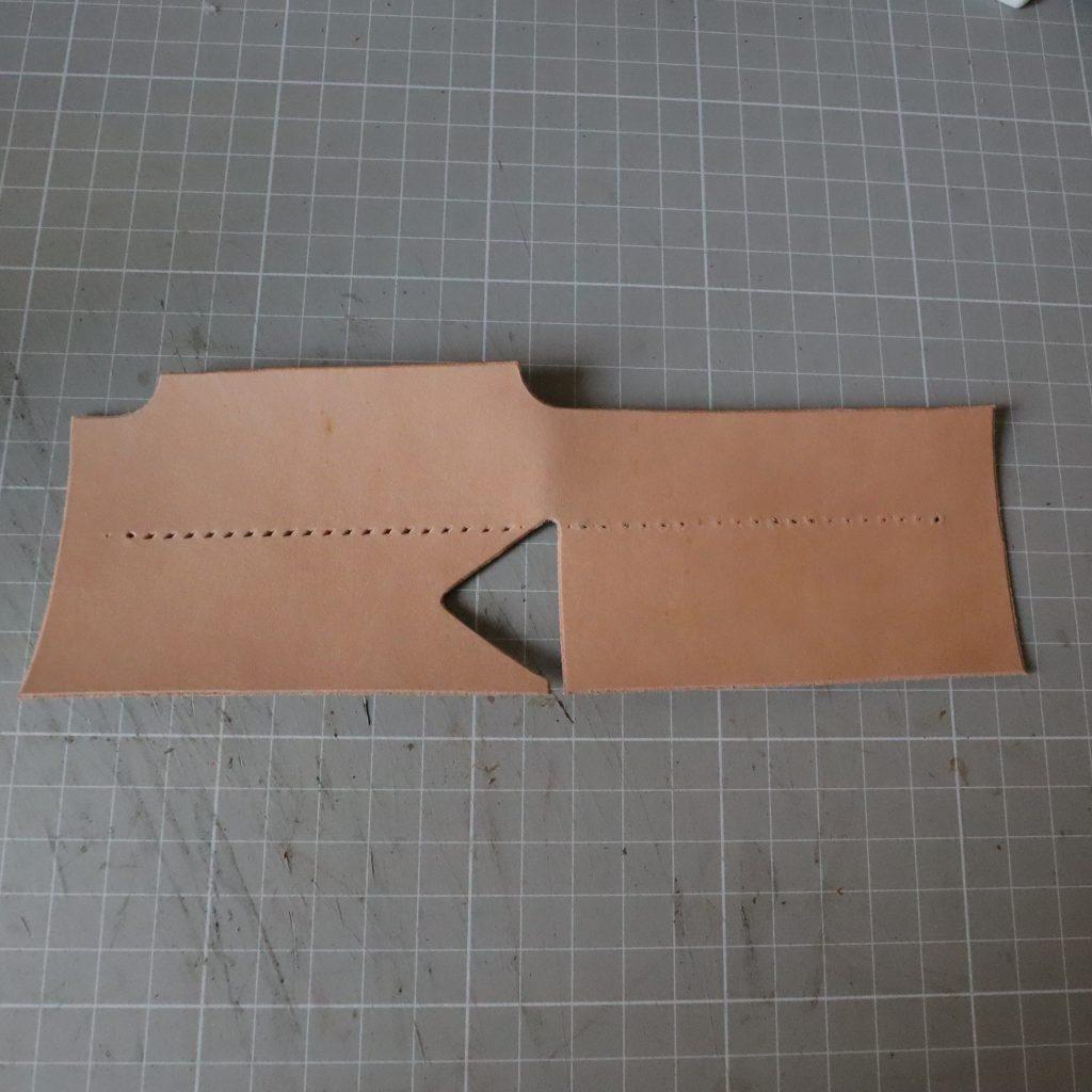 コインケースとキーケースつくり|L字ファスナーの小型財布|レザークラフト作品紹介
