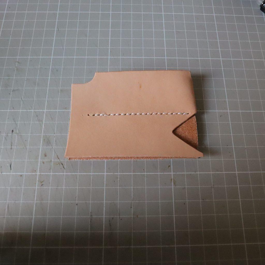 コインケースとキーケースつくり002|L字ファスナーの小型財布|レザークラフト作品紹介