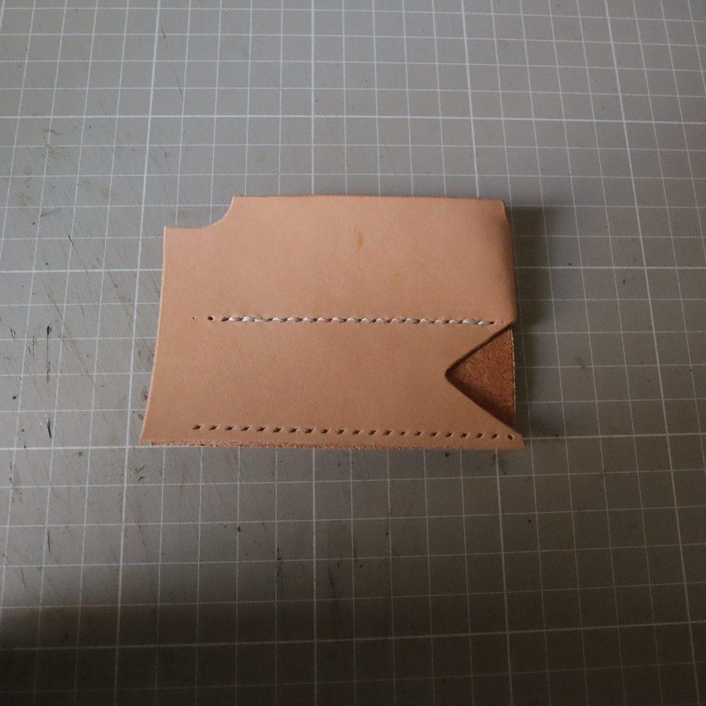コインケースとキーケースつくり003|L字ファスナーの小型財布|レザークラフト作品紹介