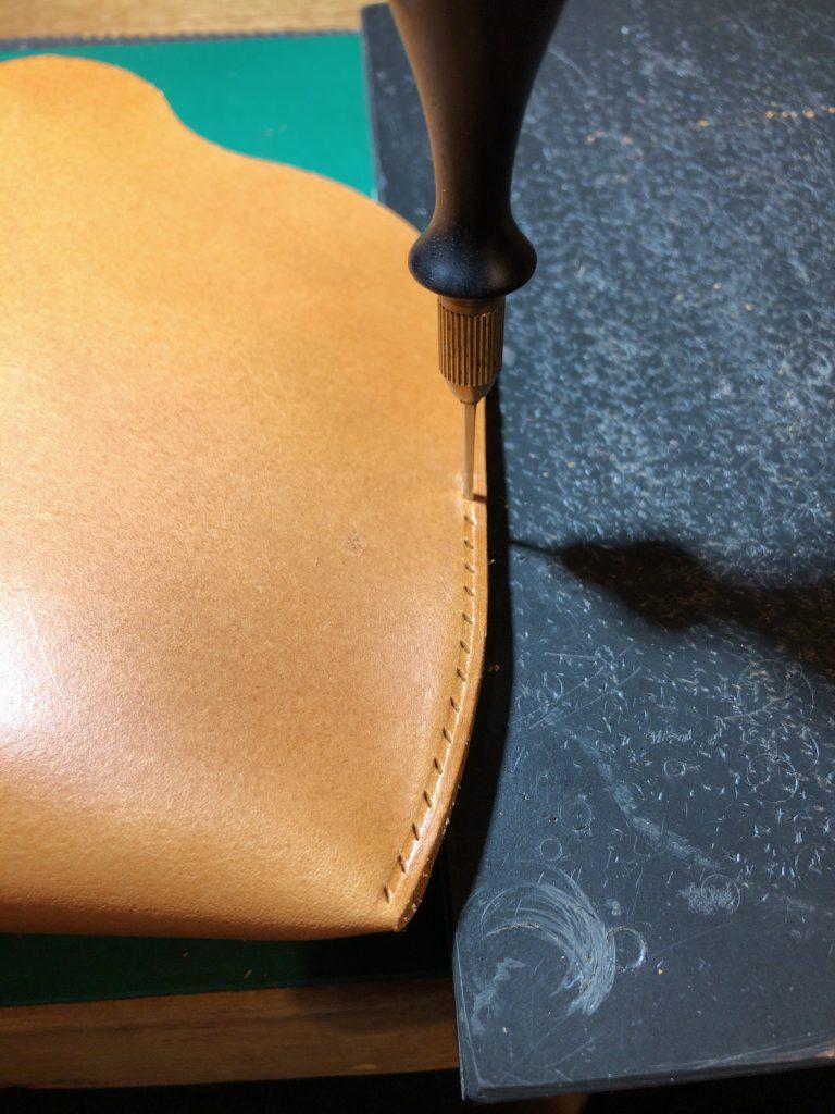 【レザークラフトブログ】メガネケースの製作過程紹介14