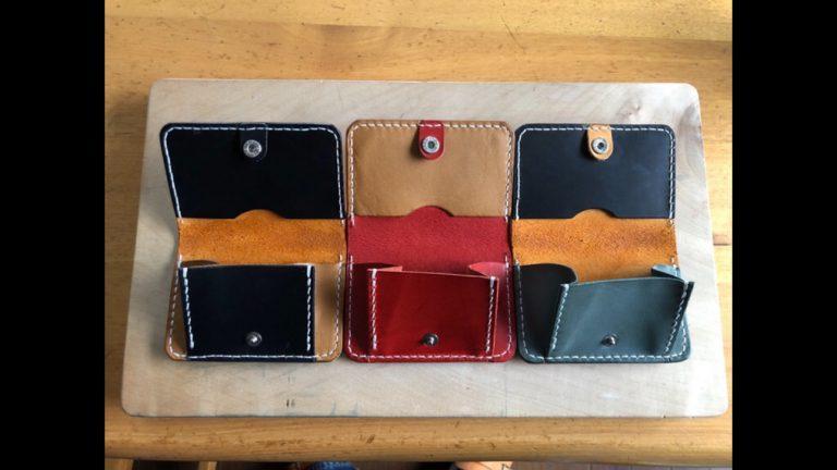 「革のコインケース」|レザークラフト作品ブログ-3