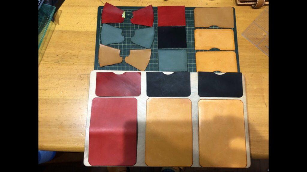 「革のコインケース」|レザークラフト作品ブログ (5)