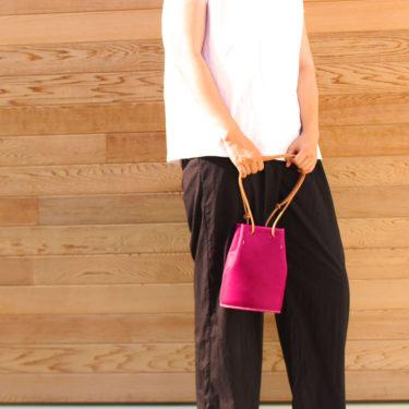 京紫の3wayミニバッグ